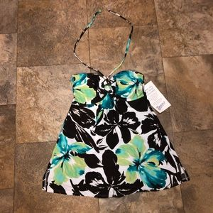 Other - One piece floral bathing suit NWT size 12